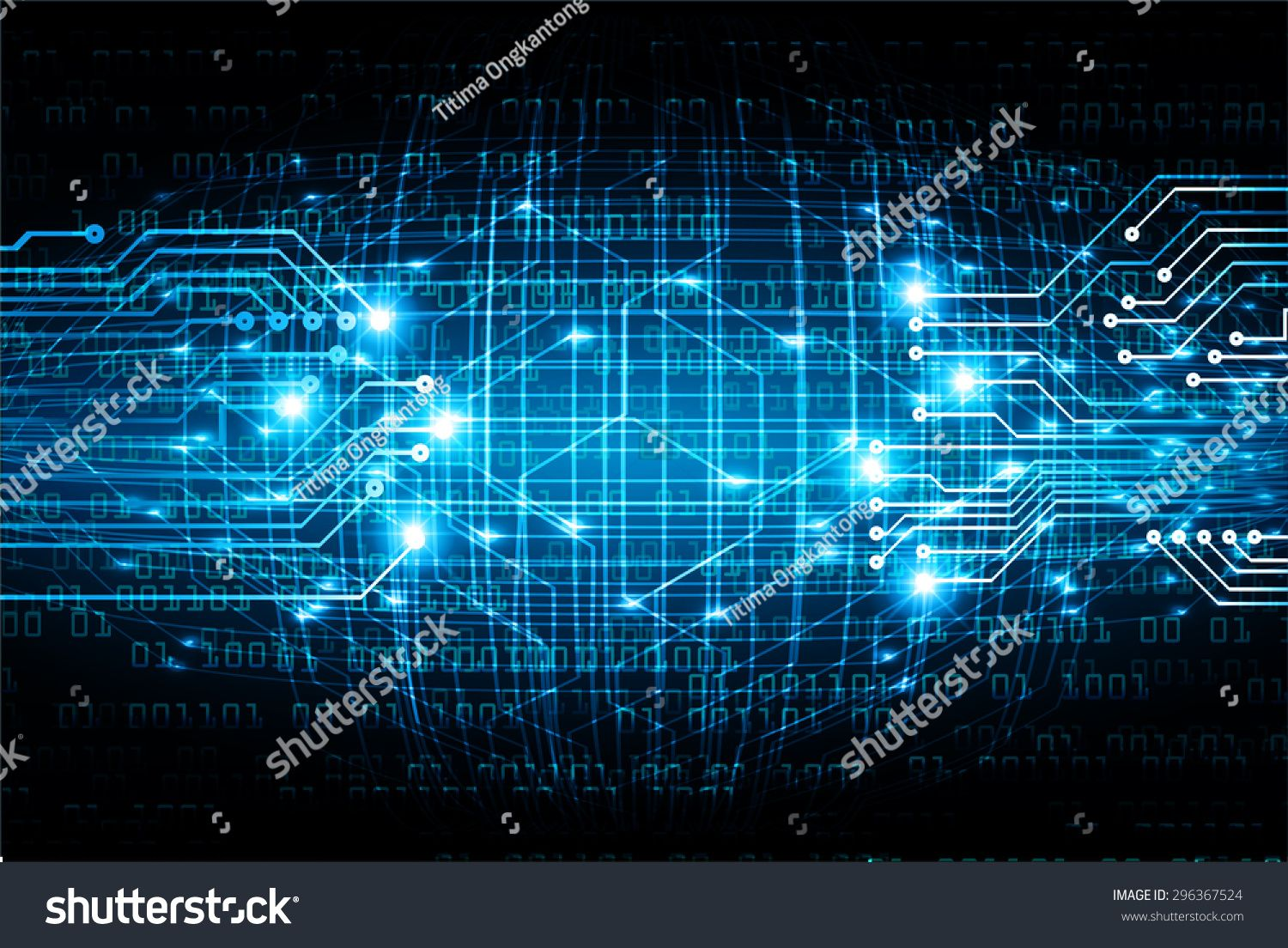 Dark Blue Color Light Abstract Technology Background For Computer Graphic Website Internet And Business Cir Dark Blue Color Technology Background Light Colors