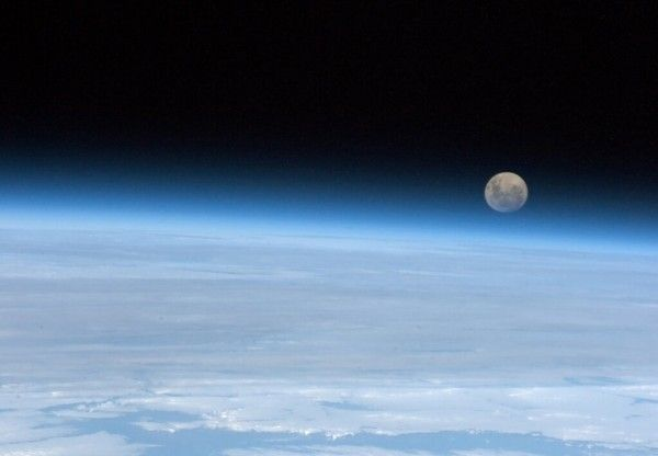 photo taken from space by canadian astronaut