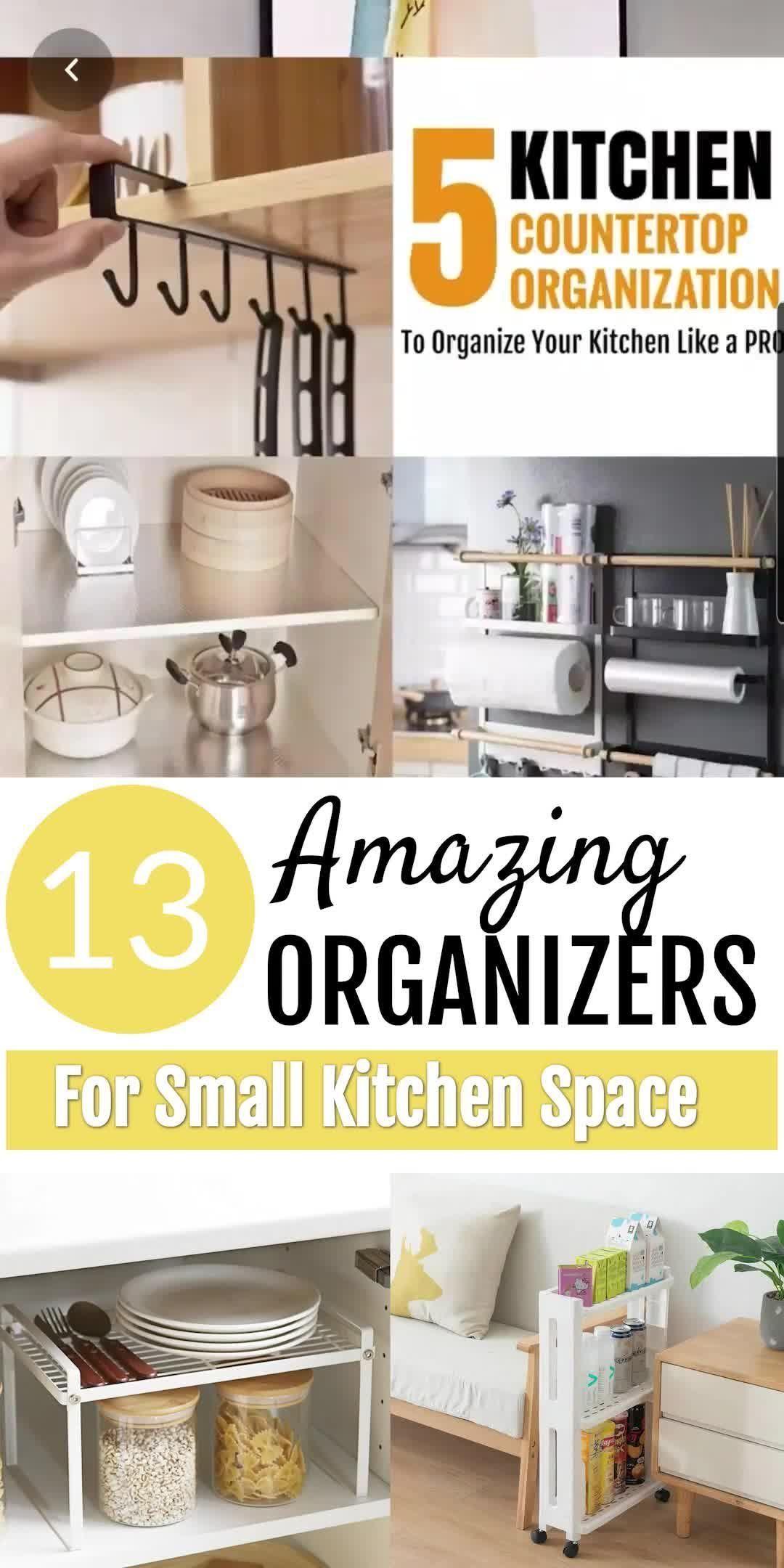 13 Kitchen Storage Ideas For Small Spaces