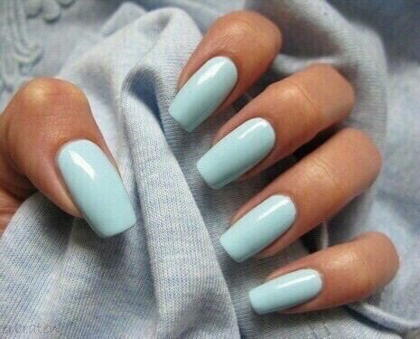 Beauty blue chic girly makeup mint nail art nails blue nails prinsesfo Gallery