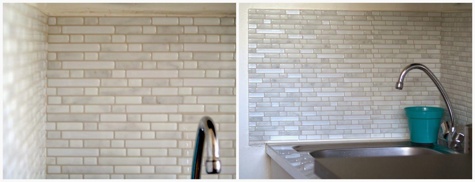 J Ai Teste Le Carrelage Mural Adhesif Smart Tiles Carrelage Mural Adhesif Carrelage Adhesif Carrelage Mural