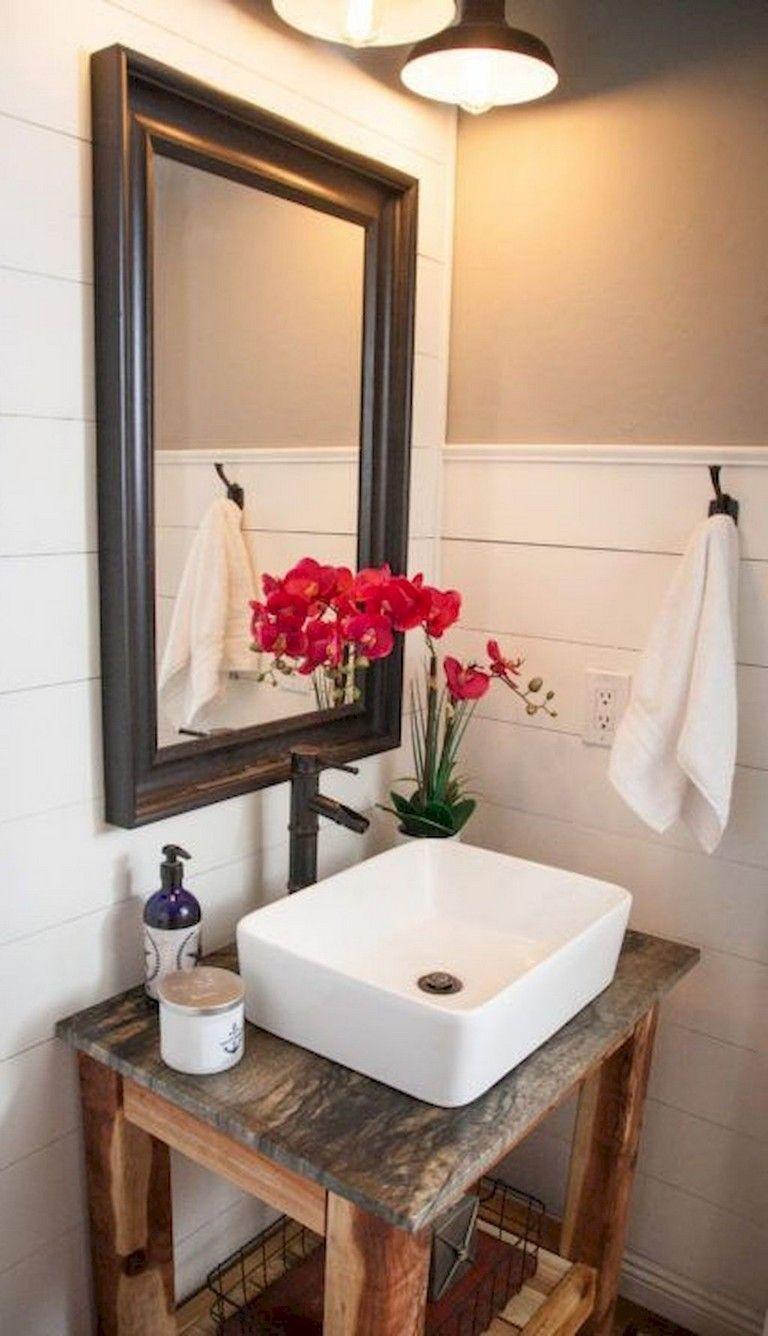 25+ Marvelous Modern Farmhouse Bathroom Vanity Ideas
