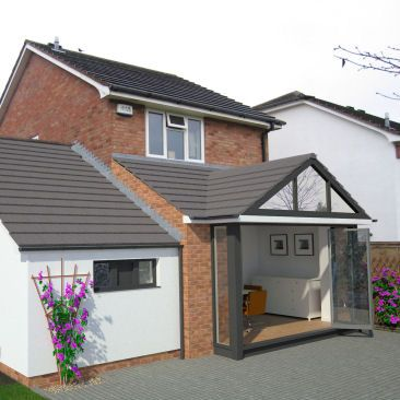 Domestic Extension To Create New Dining Room Bournville Birmingham