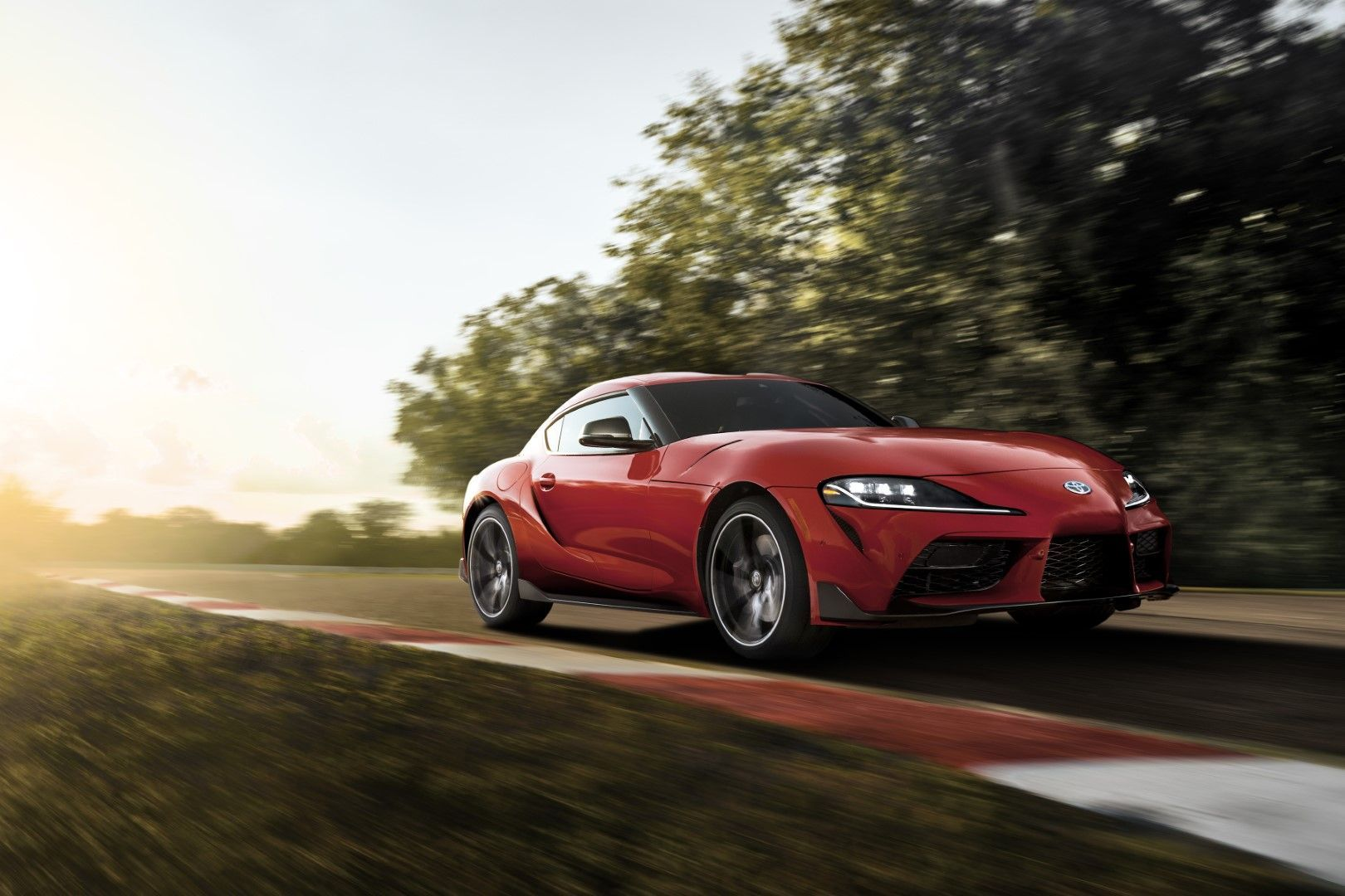 2020 Toyota Supra North American Model 3 0 Liter Turbocharged Inline Six With 335 Hp And 365 Lb Ft Of Torque Toyota Supra Toyota Supra New Toyota Supra