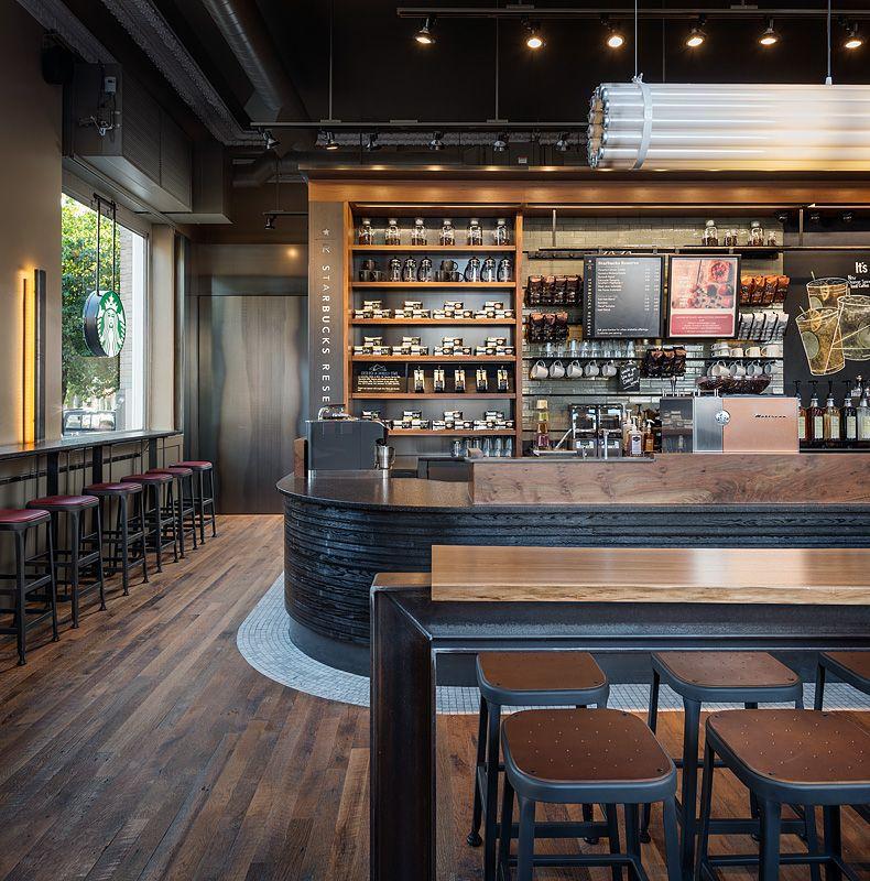 Starbucks Broadway And Pike Seattle Rustic Basement