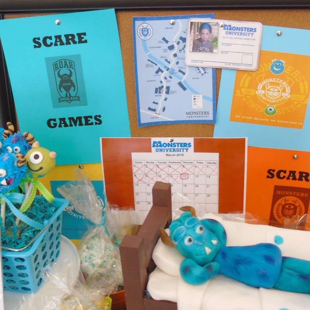 Monster University | CatchMyParty.com