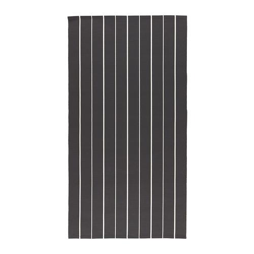 s ften tapis tiss plat noir blanc 80x150 cm tapis tiss ikea et tapis. Black Bedroom Furniture Sets. Home Design Ideas