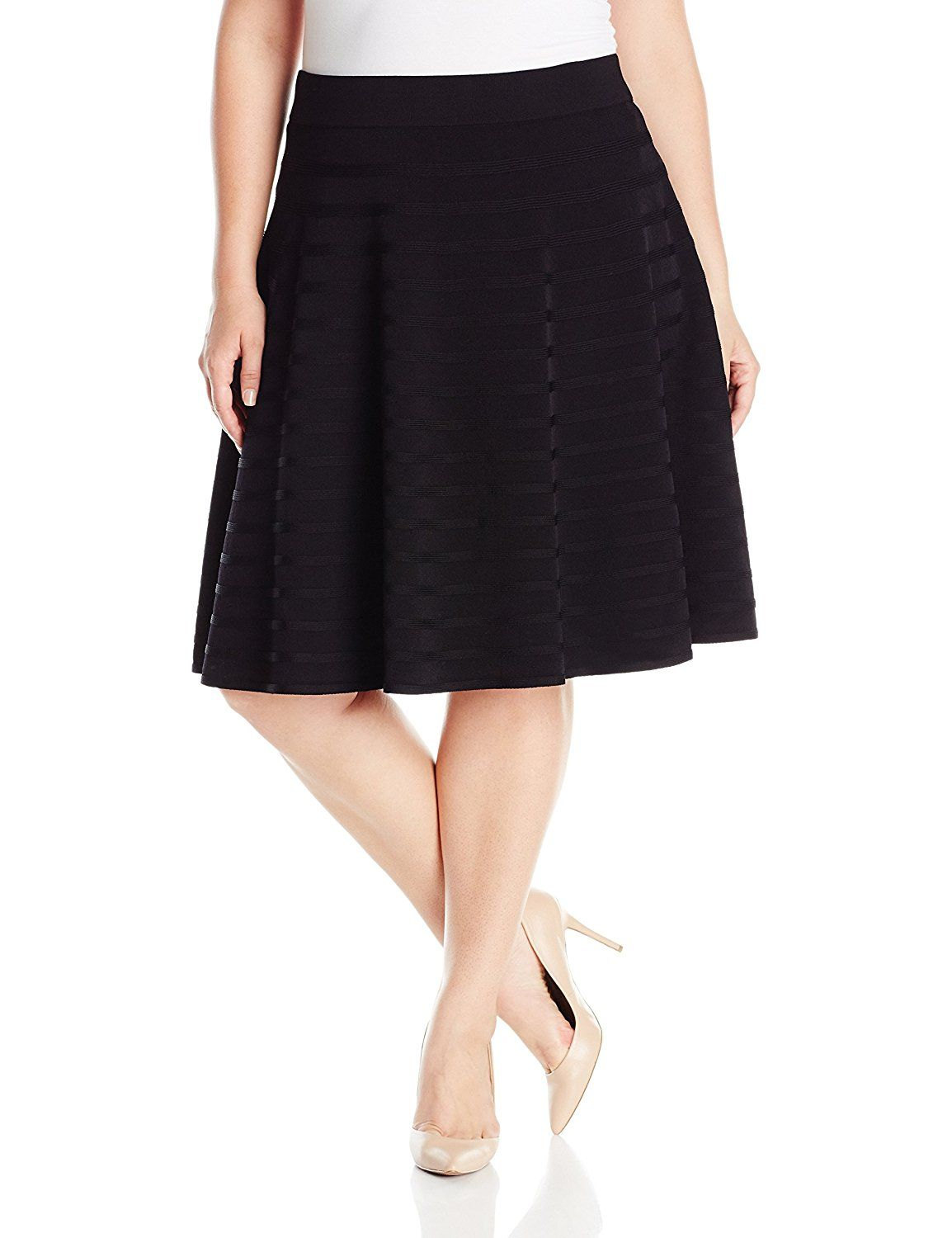 91aa4423299 Calvin Klein Women s Plus-Size Skirt With Rib Stripe Detail -- You can find  more details by visiting the image link.
