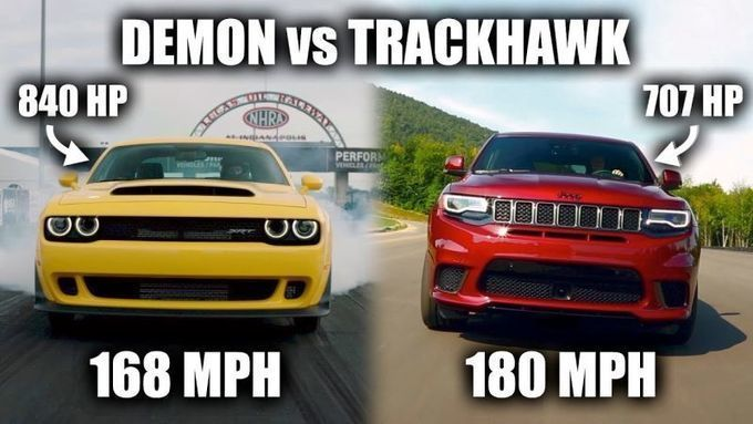 Here Is Why The Jeep Grandcherokee Trackhawk Is Actually Faster