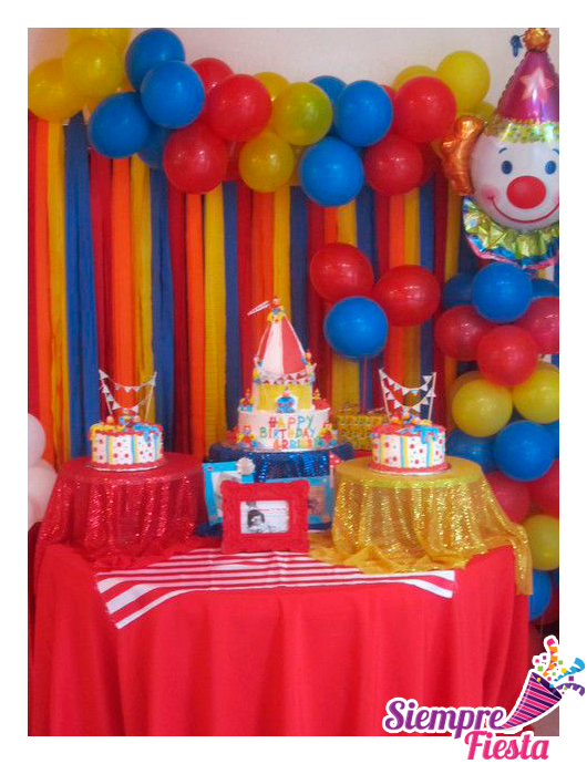 Ideas para fiesta de cumplea os de payasos encuentra en - Ideas infantiles para cumpleanos ...