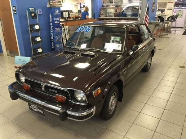 Car Brand Auctioned Honda Other 1976 Model Cvcc Showroom Civic Antique Clic Check