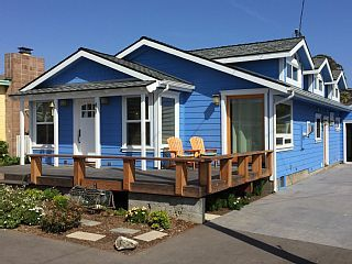 The Little Blue Beach House In Cayucos A Perfect Getaway Vacation Al Central Coast California From Homeaway Travel