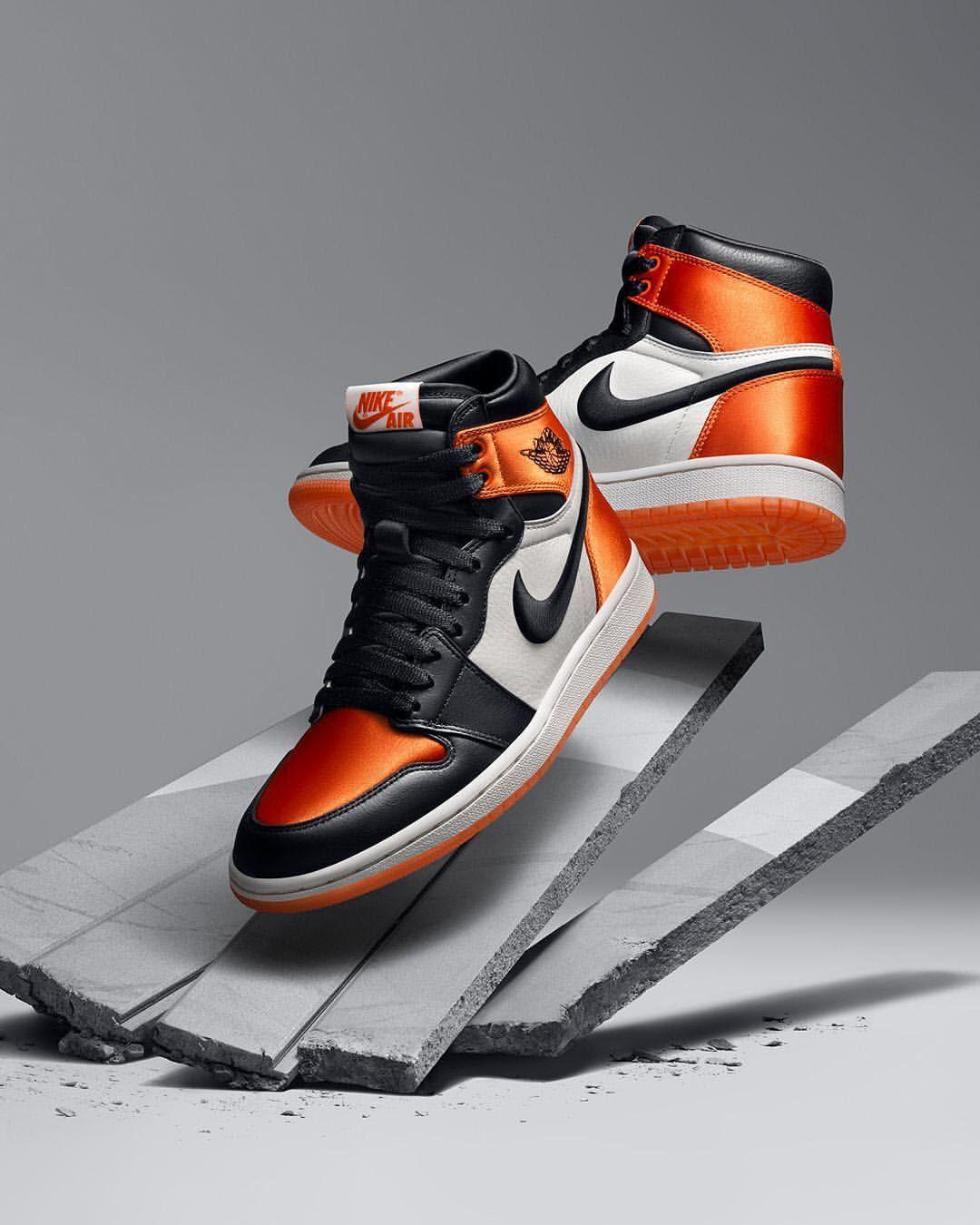 on sale c9620 61401 Nike Air Jordan 1  Satin Shattered Backboard
