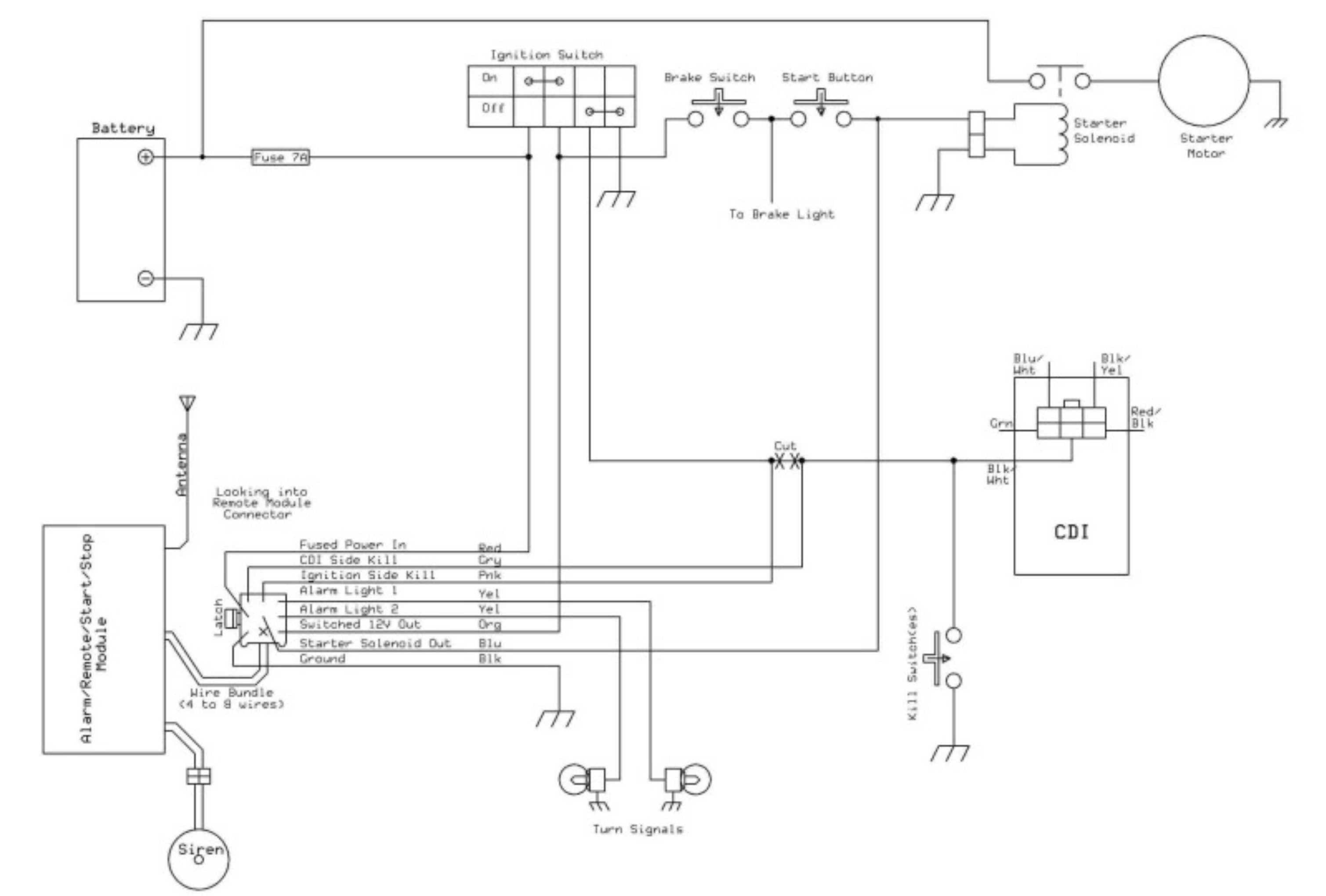 Unique Wiring Diagram Of Motorcycle Alarm System Security Cameras For Home Diagram Alarm System