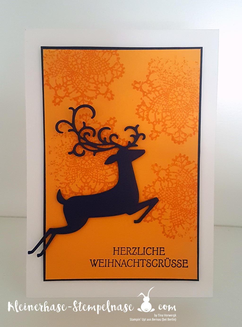 Weihnachtskarten Katalog.Kleinerhase Stempelnase Stampin Up Demonstratorin In Thüringen