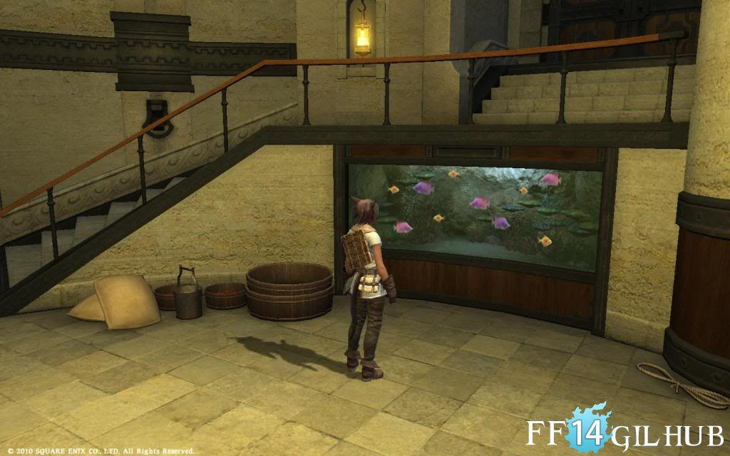 FFXIV Fish Tank Housing   FF14GilHub Photo