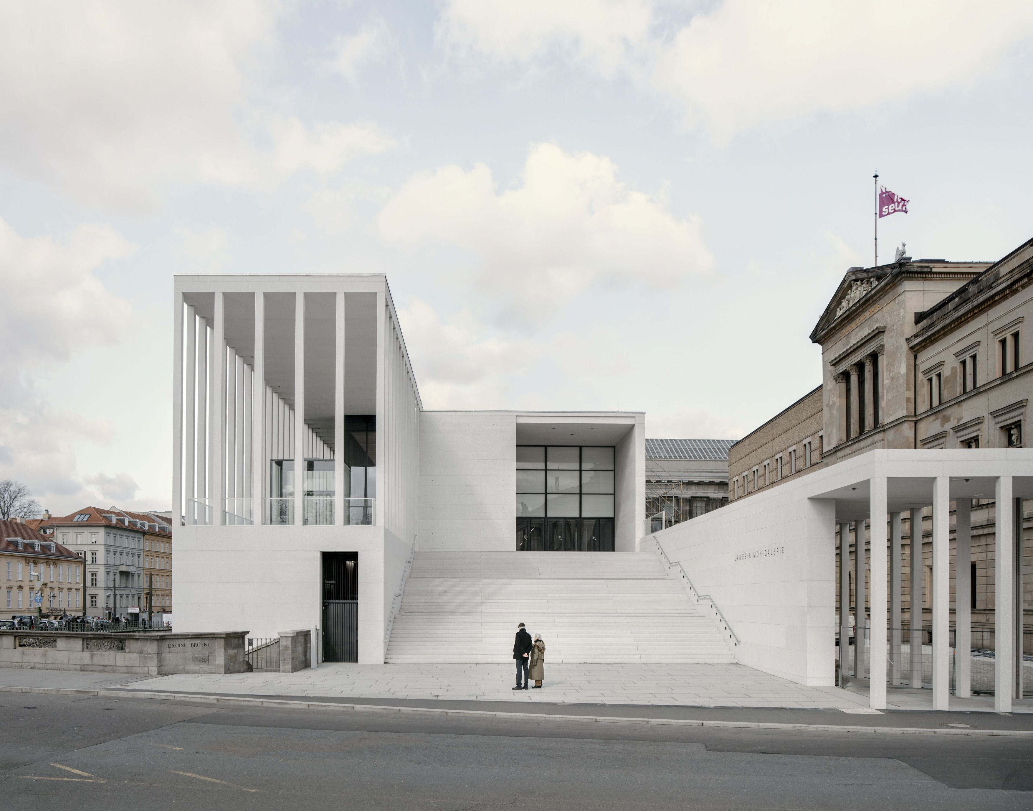 James Simon Galerie Picture Gallery David Chipperfield Architects Museum Architecture Architecture