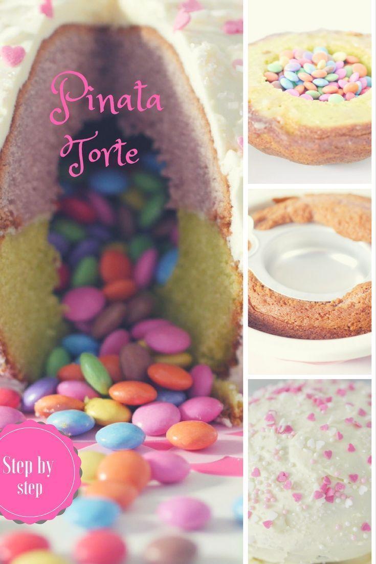 Photo of Piñata cake with smarties filling – step-by-step PINATA CAKE, PINATA TORT …
