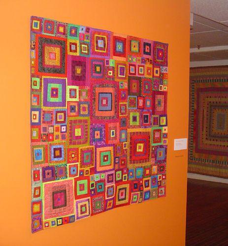 Designer Quilts - Gorgeous Kaffe Fasset - Jewel Squares1