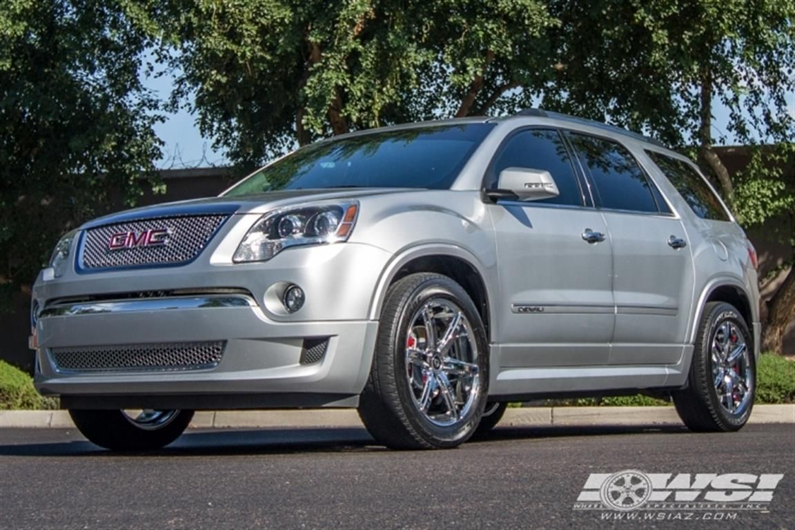 2012 Gmc Acadia With 20 Lexani R 6 Wheels Wheel Specialists Inc