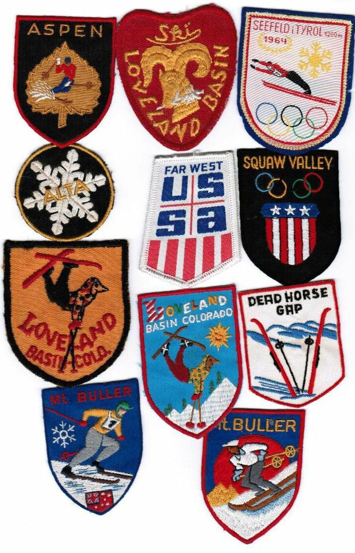 70 S Ski Patches Skiing Patches Vehicle Logos Porsche Logo