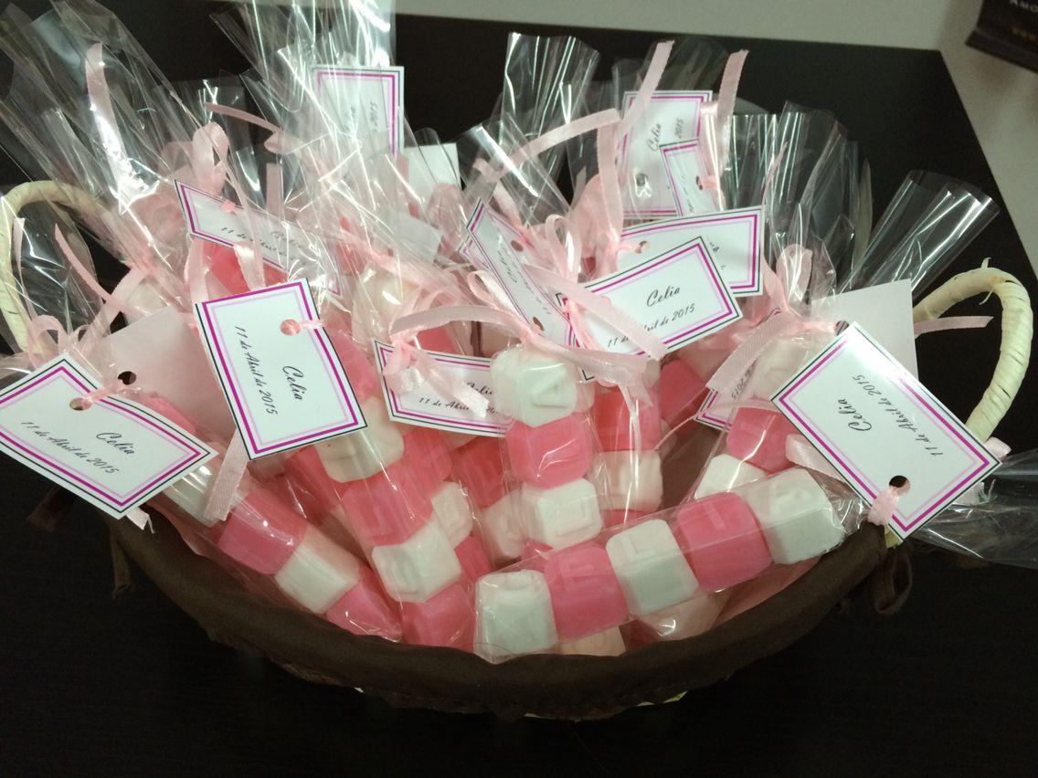 Jabones de glicerina ideas para bodas bautizo y comunion @tucajonsecreto 637302581