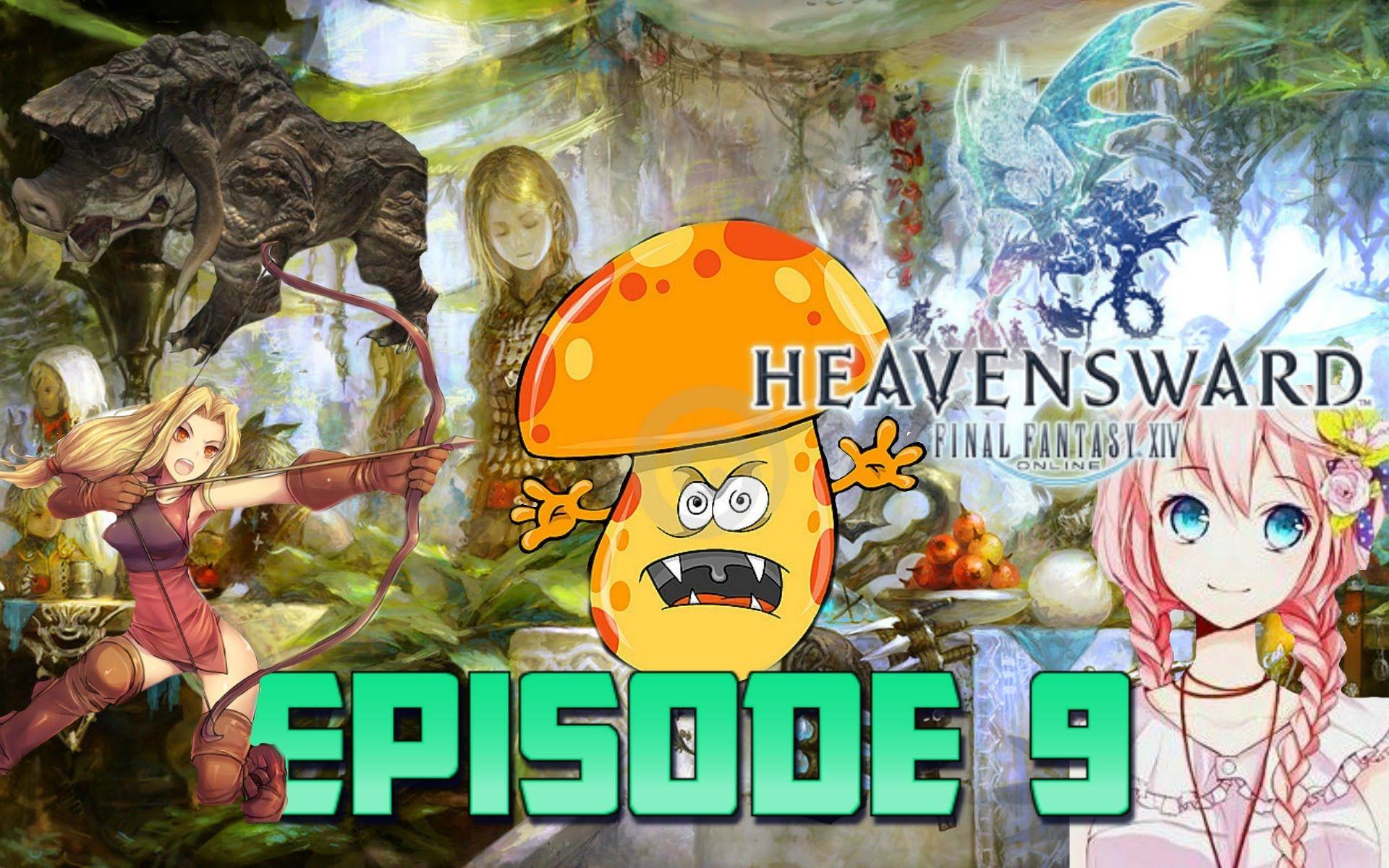 Treacherous Mushrooms! Final fantasy 14 Heavensward