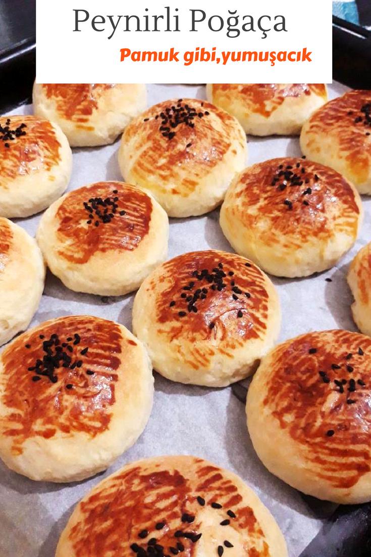 Peynirli Pamuk Poğaça Tarifi