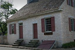 Felix Vallé House c. 1818 and historic trading firm of Menard ...