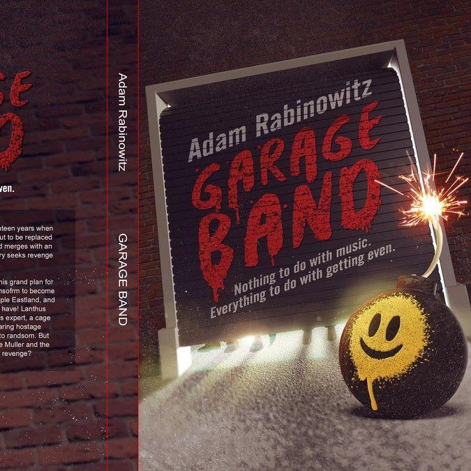 Book Cover Design Garage Band By Kofaber Logo Design Pinterest