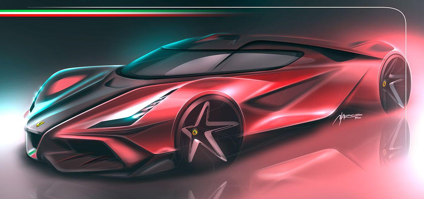 Car Design Sketches 2 On Behance Concept Car Design Concept Cars Futuristic Cars