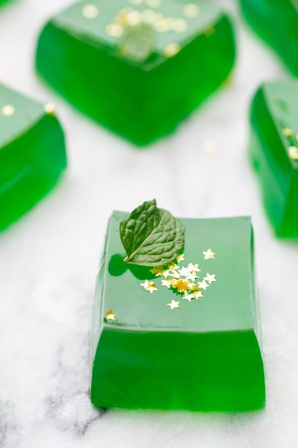 Image result for Pot of Gold Jello Shots with Goldschlager