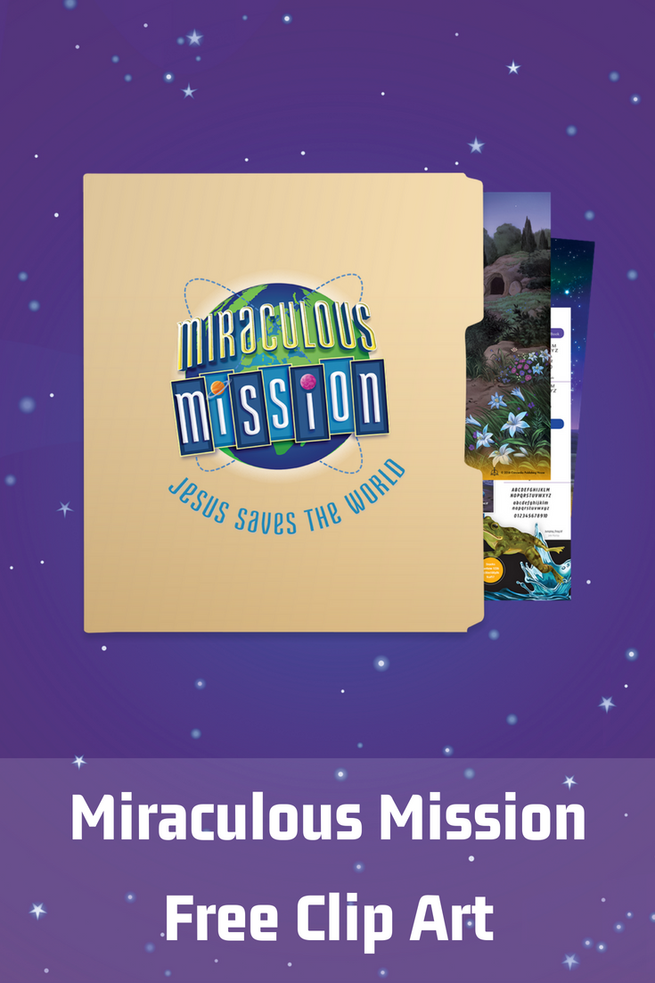 Download all the art your church needs for Miraculous Mission VBS