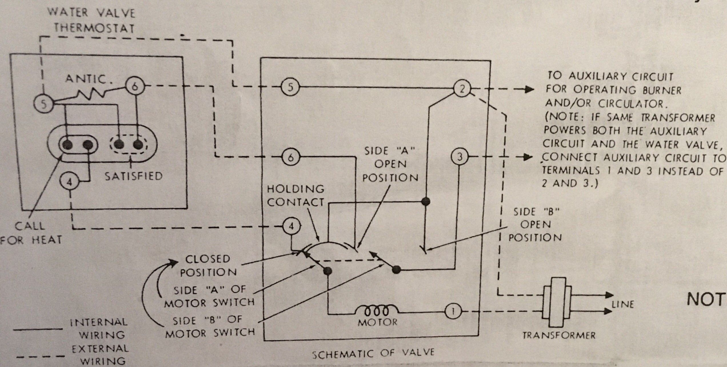 New Wiring Diagram For A System Boiler