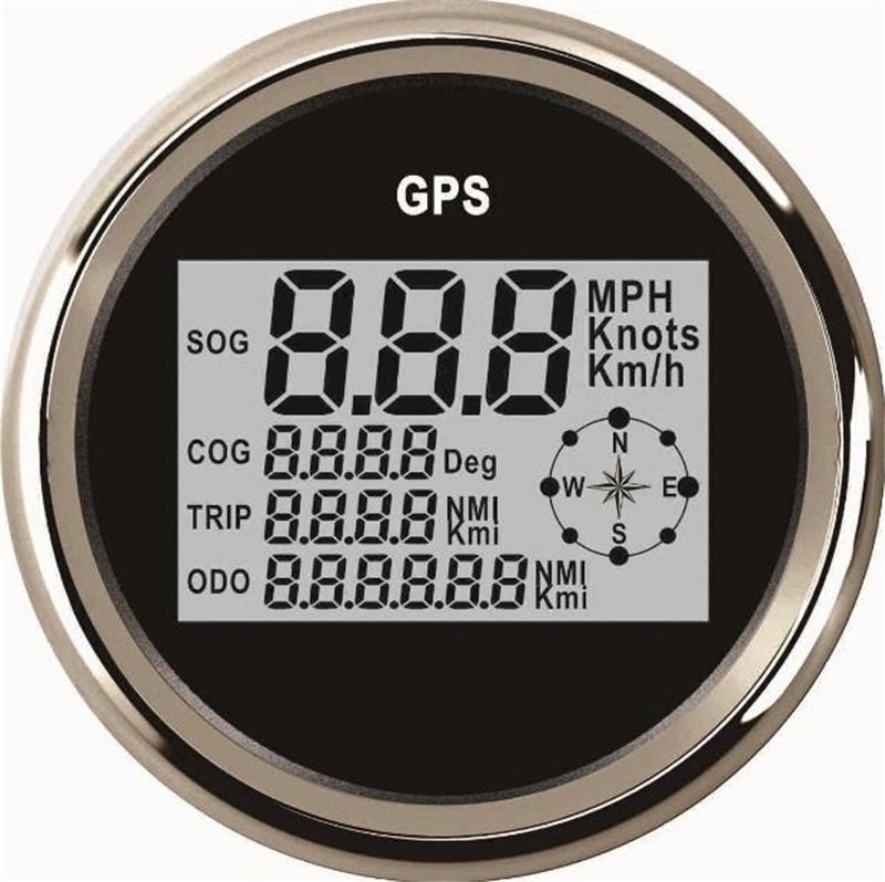 77.99$  Buy here - 1pc Automobile Tuning Gauges 85mm Digital GPS Speedometers Odometers Motorcycle Tuning Meters 9-32v with Backlight  #SHOPPING