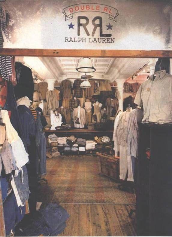 35459891502c Ralph Lauren RRL Store Display - Double RL