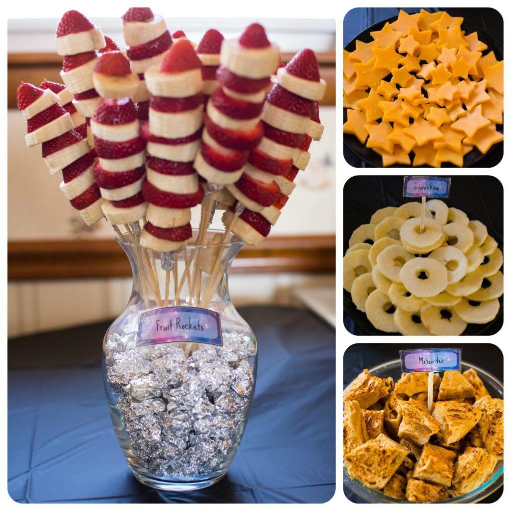 Space Theme Birthday Party ideas!! Food ideas: Fruit ...