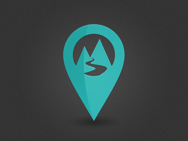 Map Trail Marker Pin Hiking Logo Map Logo Journey Logo