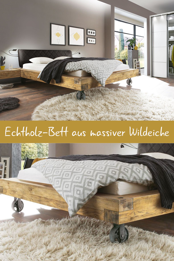 bett callao in 2018 massivholz welt pinterest diy. Black Bedroom Furniture Sets. Home Design Ideas