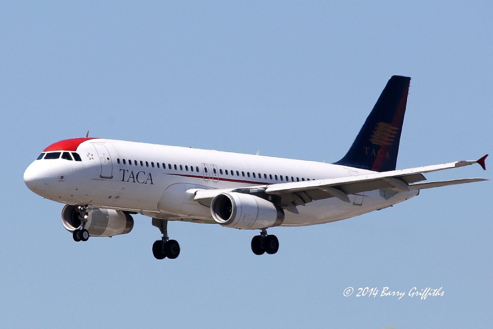 Airbus A320-233 s/n 2434 (2005) TACA International Airlines N492TA  | par (Barry) Griffiths