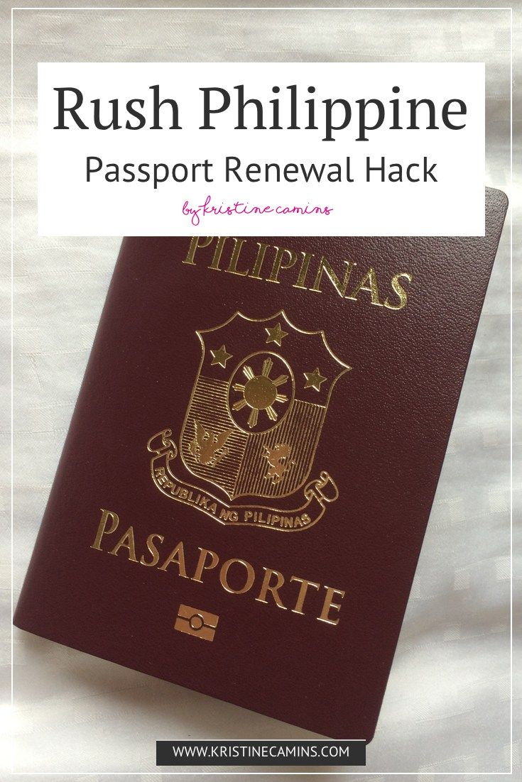 Rush Philippine Passport Renewal Hack | Kuwait | Passport