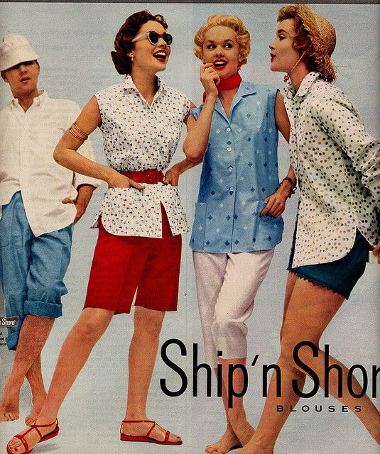 Ship N Shore Blouses 1954 My Teenage Years In The Fifties
