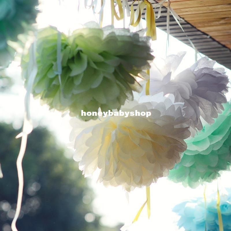 Medium Christmas And New Year Paper Flower Ball Wedding Outdoor - outdoor christmas decorations wholesale