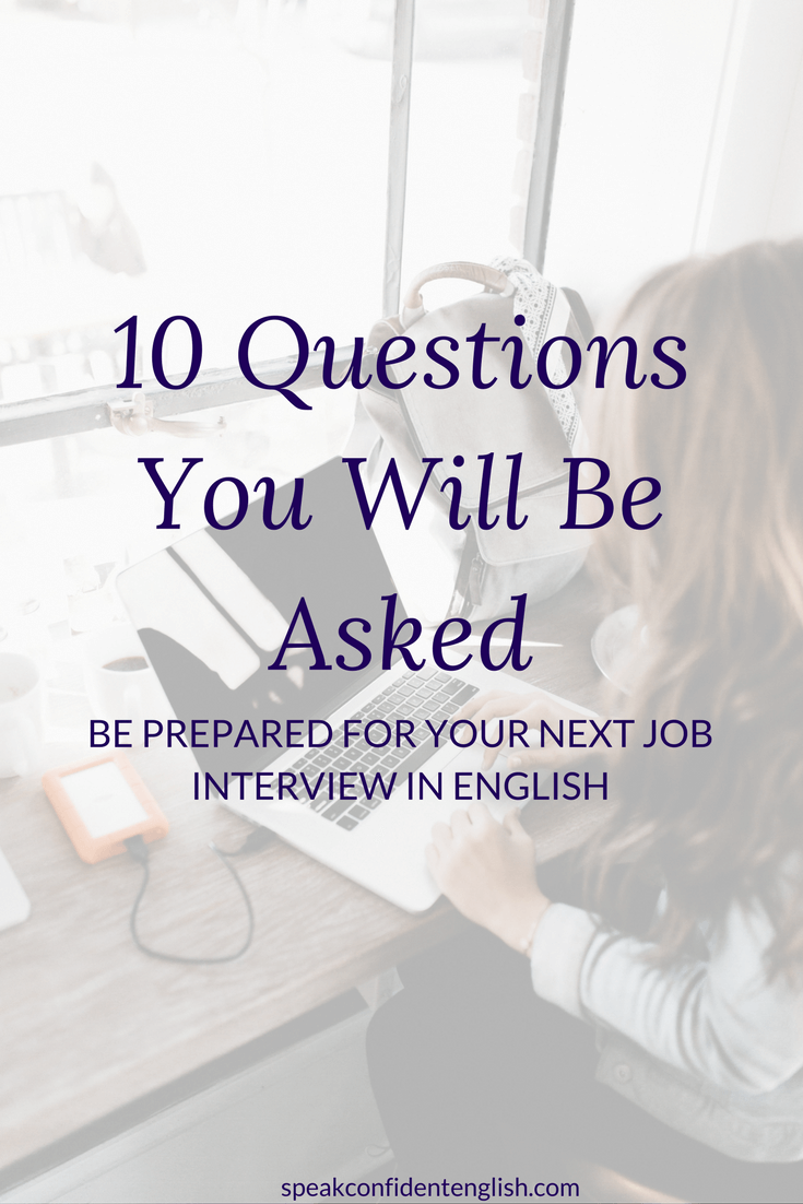 10 Common Job Interview Questions in English You Need to ...