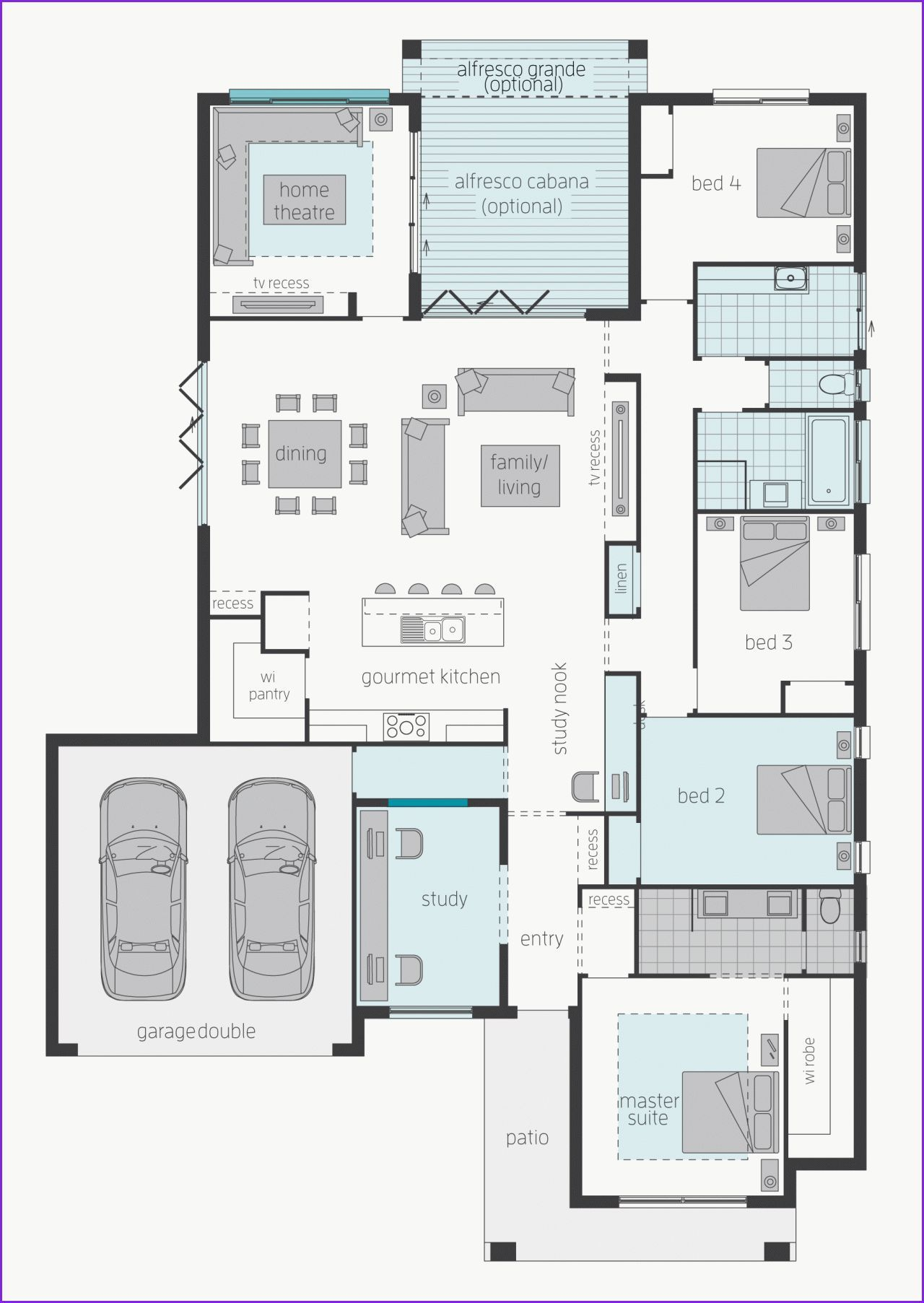 Awesome 3 Bedroom House Blueprints Minecraft House Designs Bungalow Floor Plans Modern Minecraft Houses