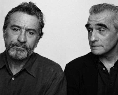 De Niro and Scorcese - they look sad....