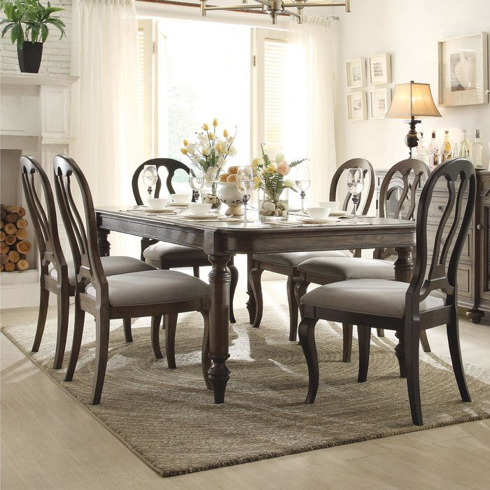 You Ll Love The Beckles 9 Piece Dining Set At Wayfair Great Deals On All Furniture Products Wi French Country Furniture Dining Room Sets Riverside Furniture