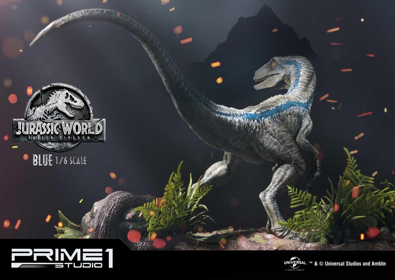 Info E Preordini Prime 1 Studio Velociraptor Blue Ex Version