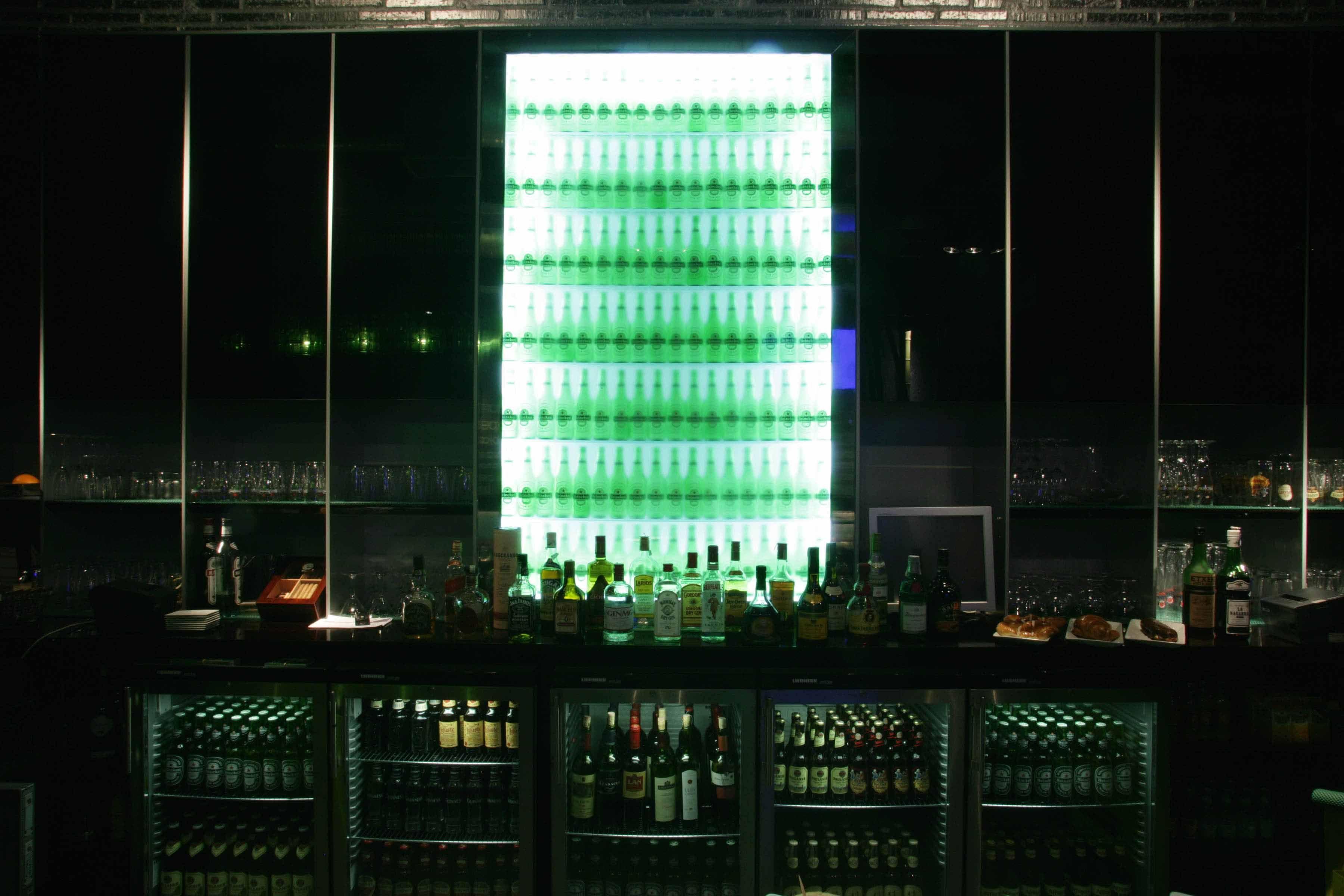 Inicio Taralux Heineken Planner Bar