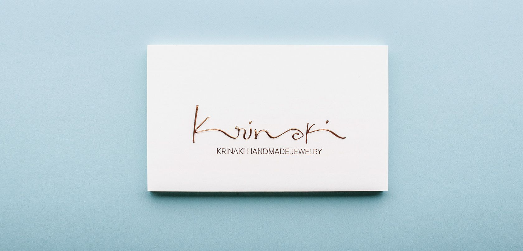 Kommigraphics - Krinaki Jewelry Krinaki Jewelry branding and ...